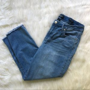 Nine West Chrystie Capri Light Wash Jeans